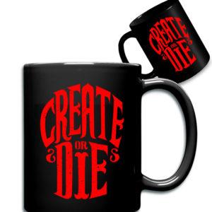468f4c00407b Create Or Die (μαύρη κούπα)